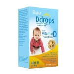 Ddrops Baby Vitamin D3 400IU, 90 drops 2.5mL (0.08 fl.oz)