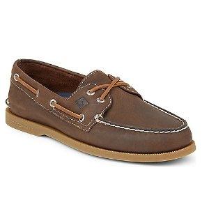 Men's Authentic Original Cross Lace Boat Shoe - $49.99 Men's Boat Shoes | Sperry