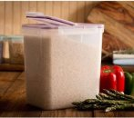 Snapware Airtight Plastic 23-Cup Fliptop Food Storage Container, 4-Pack