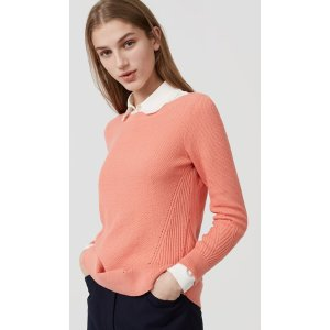 Stitchy Boatneck Sweater