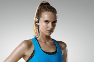 Jabra Sport Pace Wireless Bluetooth Earbuds (Blue)