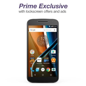 Prime Exclusive Pre-Order Moto G (4th Generation) - Black - 16 GB - Unlocked
