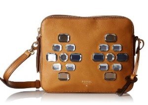 Fossil Sydney Double Zip Cross Body Bag