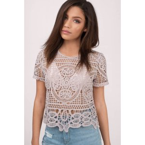 Rise Above Lace Top
