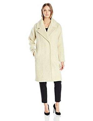 $199.99 Badgley Mischka Women's Jenna Italian Mohair Cocoon Coat