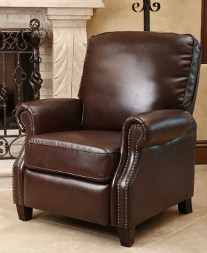$269.88 (Braxton Leather Pushback Recliner