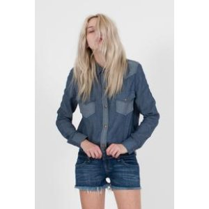 Top Paulina Long Sleeve Snap Front Shirt – Siwy Denim