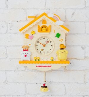 From $35.01 Sanrio Characters Pendulum Clock @ Amazon Japan