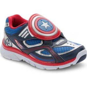 Little Kid's Stride Rite Captain America Evolution Lighted Sneaker - sneakers | Stride Rite
