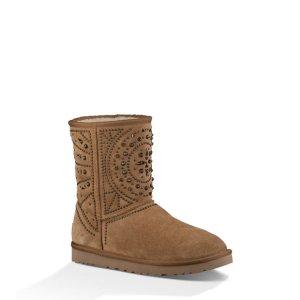 Women's Fiore Deco Studs Suede Boots