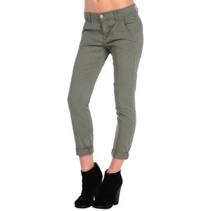 Relaxed Fiona Slouchy Cropped Chino – Siwy Denim