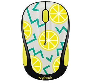 Logitech® Play Collection M325c Wireless Mouse, Lemon