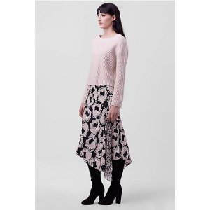 DVF Posey Asymmetrical Skirt   Landing Pages by DVF