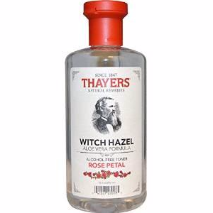 $7.98 Thayers Alcohol-Free Rose Petal Witch Hazel with Aloe Vera, 12 Fluid Ounce