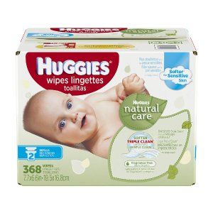 Huggies Natural Care Baby Wipes Refill Pack - 368 Count - Kimberly Clark Corp. - Babies