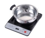 New Midea 1500W Induction Cooktop Cooker with Stainless Steel Pot Table Hotpot | eBay
