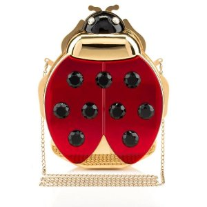 LADYBIRD|CLUTCH BAG|Charlotte Olympia HANDBAGS