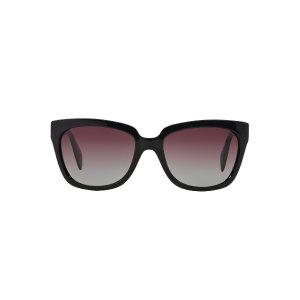 Prada PR 07PS 56 Purple & Black Polarized Sunglasses | Sunglass Hut USA