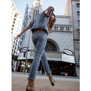 Levi's Levi's 505c Cropped Jeans at Free People Clothing Boutique