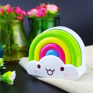 $8.99 Zitrades Baby Night Light Rainbow Toddler Nightlight for Kids with Sensor