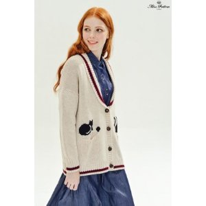 Letterman Cardigan (Cat) - Miss Patina - Vintage Inspired Fashion