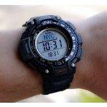 Casio Men's SGW-1000-1ACR Triple Sensor Digital Display Quartz Black Watch