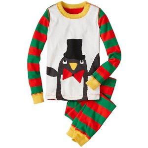 Kids Long John Pajamas In Organic Cotton | Sale Boys Sleepwear Clearance
