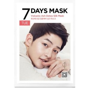 Forencos Song Joong Ki Seven Days Mask Pack - Tuesday