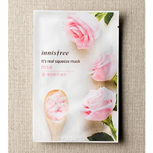 SKIN CARE - It's real squeeze mask - rose | innisfree