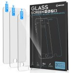 iBenzer iPhone 6S/6S Plus/Samsung S7 Tempered Glass Screen Protector (pack of 3)