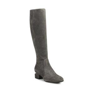 Ashton Tilt-Heel Suede Boots by Alexander Wang