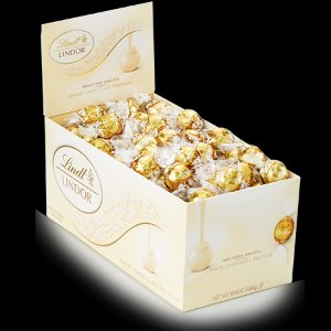White Chocolate LINDOR Truffles 120-pc Box