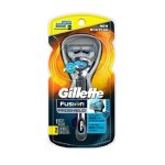 Gillette Fusion ProShield Chill Men's Razor with Flexball Handle and 2 Razor Blade Refills