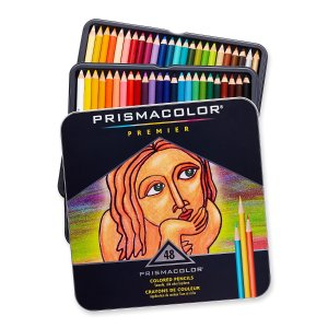 $27 Prismacolor Premier Colored Pencils, Soft Core, 48 Pack
