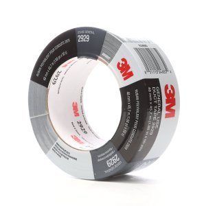 $6.59 3M Utility Duct Tape 2929 Silver, 1.88 in x 50 yd 5.8 mils