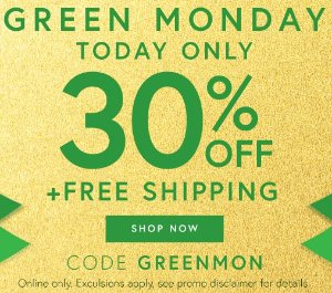 30% Off +Free ShippingGreen Monday Sale @ Perfumania