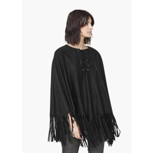 Fringed cape - Woman