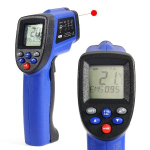 30% Off! COLEMETER LCD Non-contact Digital Infrared Thermometer Temperature Gun
