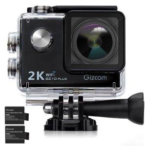 Gizcam GZ10 Plus 2K 1080P FHD 12MP WiFi Sports Camera