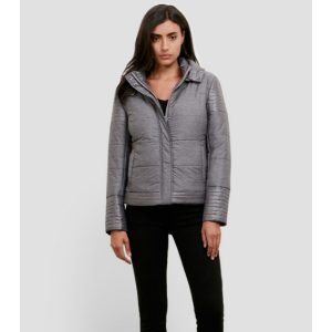 Puffer Jacket With Removable Hood   Kenneth Cole