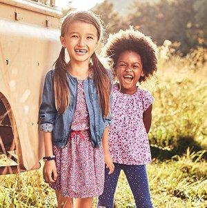 Rare! Up to 50% off + 30% off $60+Free Shipping! Kids Apparel Fresh Styles @ OshKosh BGosh