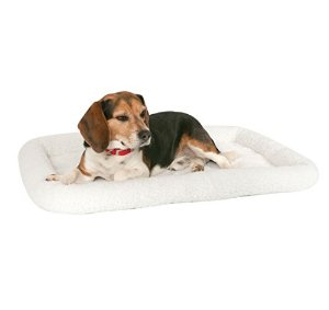 Lowest price! $8.64( reg. $19.99 ) Midwest Quiet Time Fashion Pet Bed 24-Inch