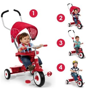Radio Flyer 4-in-1 Stroll 'N Trike @ Amazon