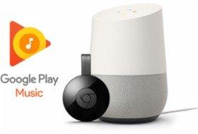 立减$40,低至$119.00Google Home+Chromecast设备套装再送6个月免费Google Play Music