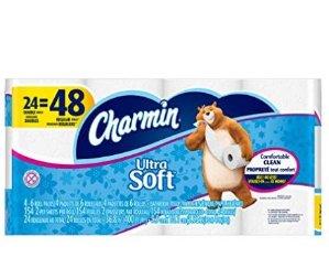 史低价!Charmin 超柔软厕纸-24卷