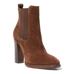 Nasima Suede Bootie - All Shoes � Shoes - RalphLauren.com