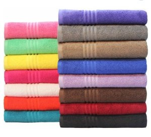 As low as $0.77 Mainstays Essential True Colors Bath Towel Collection