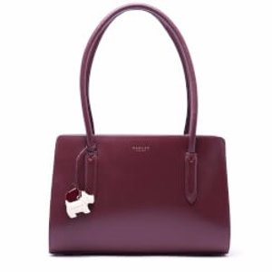 Radley Women's Liverpool Street Medium Ziptop Tote Bag - Burgundy