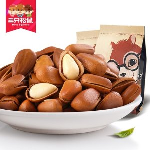 Three Squirrel Pine Nuts Original 218g