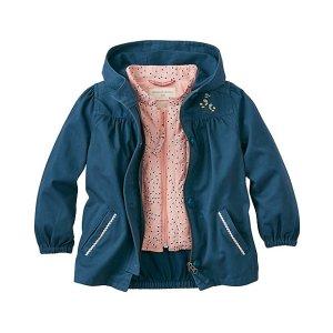 Girls Three Ways Jacket & Vest Set | Sale Girls Outerwear Perm